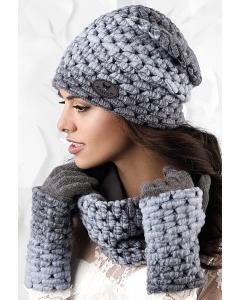 Комплект шапка + снуд Kamea Ombre