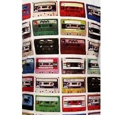 Белая мужская футболка Tapes