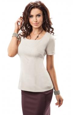 Удлиненная блузка Enny 17049