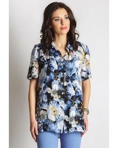 Удлиненная блузка TopDesign LA6 03