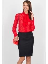 Чёрная юбка-карандаш Emka Fashion 558-dorofeya