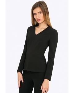 Черная блузка Emka B2279/premiera