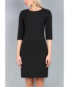 Чёрное платье-футляр Emka Fashion PL-403/ofeliya