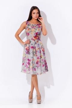 Шикарное летнее платье | 1659