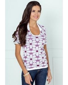Блузка из вязанного трикотажа Andovers 206639