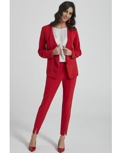 Женские красные брюки-сигареты Ennywear 250086
