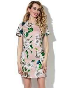 Летнее прямое платье Donna Saggia DSP-88-15