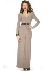 Длинное трикотажное платье Donna Saggia DSP-81-6t