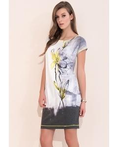 Летнее платье с цветочным принтом Zaps Torri