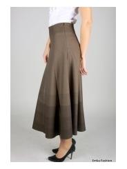 Длинная юбка Emkafashion | 281/bermuda-brown