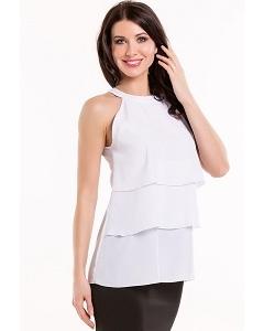 Белая блузка Remix 3981