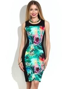 Платье прилегающего силуэта Donna Saggia DSP-43-82t