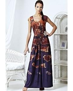 Длинное летнее платье | A3 079