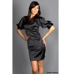 Черное платье Emka Fashion