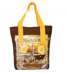 Жёлто-коричневая сумка Grizzly | Л-904