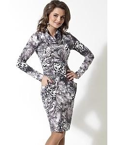 Черно-белое платье TopDesign | B2 109