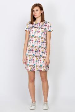 Стильное летнее платье Emka Fashion PL-522/hembra