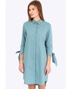 Хлопковое платье-рубашка Emka Fashion PL-581/esmira