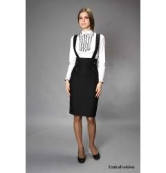 Стильный офисный сарафан Emka Fashion