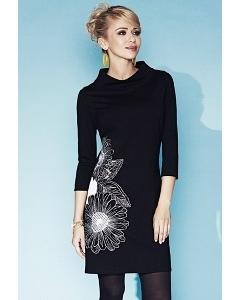 Чёрное платье Zaps Jodie