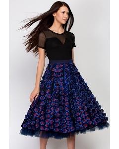 Шикарная юбка Emka Fashion 601-ripple