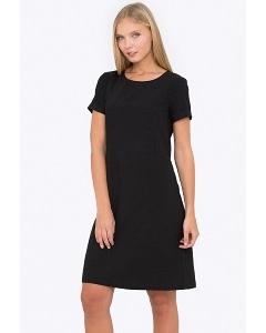 Лёгкое чёрное платье Emka PL-605/zenona