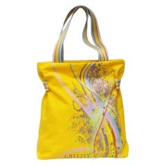 Яркая жёлтая сумка GRIZZLY | Л-096
