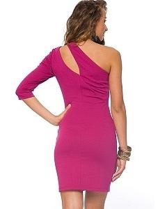 Стильное коктейльное платье | DSP-71-38