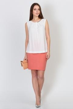 Юбка горчичного цвета Emka Fashion 558-pamela