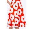 летняя оранжевая юбка