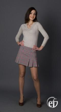 Мини юбка Emka Fashion