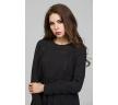 Чёрное коктейльное платье Donna Saggia DSP-299-6