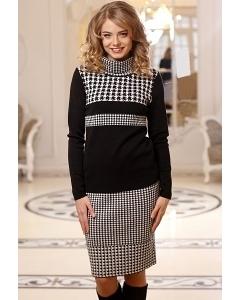 Чёрно-белая юбка Andovers 305572