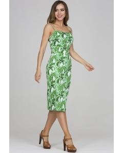 Хлопковое платье-футляр Donna Saggia DSP-326-92