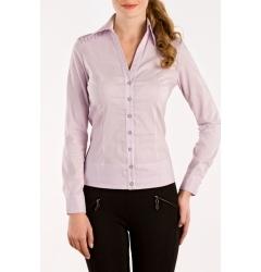 Сиреневая офисная блузка из коллекции 2011