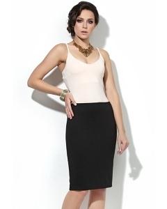 Чёрная юбка-карандаш Donna Saggia