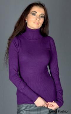 Недорогой фиолетовый свитер