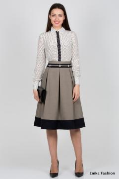 Красивая юбка Emka Fashion 531-aureliy
