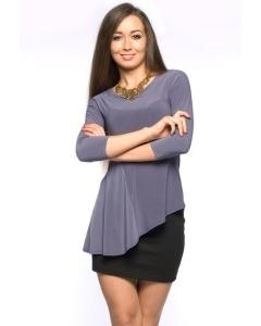 Асимметричная блузка Donna Saggia | DSB-20-48t