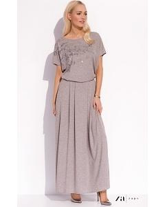 Летняя юбка макси из трикотажа Zaps Ida