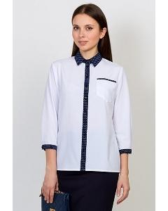 Блузка рубашечного кроя Emka Fashion b 2129/petra