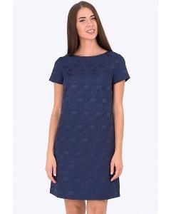 Короткое жаккардовое платье Emka Fashion PL-522/kami