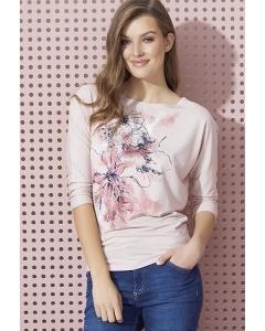 Женская блузка светло-розового цвета Zaps Neo