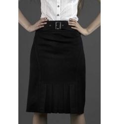 Прямая обычная юбка