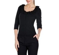 Женский джемпер черного цвета | Д313-1084