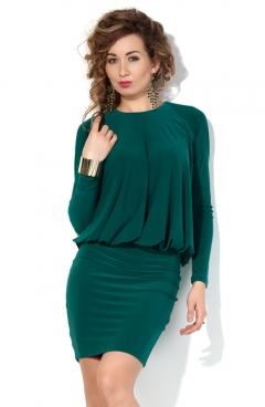 Трикотажное платье с разрезом на спине Donna Saggia DSP-62-75t