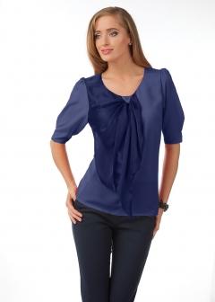 Синяя блузка Golub