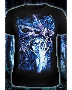 Мужская футболка Ночной Эльф (Светится в темноте и ультрафиолете)
