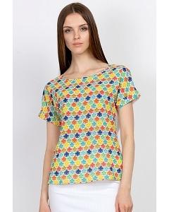 Яркая летняя блузка Emka Fashion b 2166/barbara