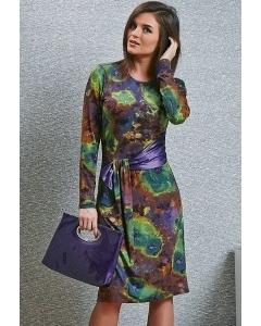 Трикотажное платье TopDesign B4 044 (коллекция осень-зима 14/15)
